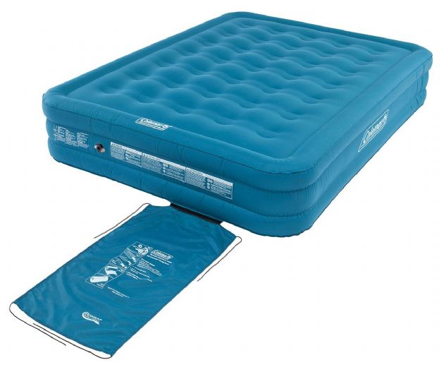 Coleman Extra Durable Airbed Raised Double, Camping Airbeds & Inflatable Mattresses, Sleeping camping mats & pads - Grasshopper Leisure